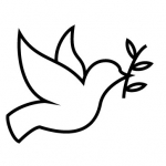 Graphic Image of a Peace Dove